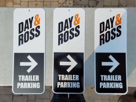 Day & Ross Trailer Parking