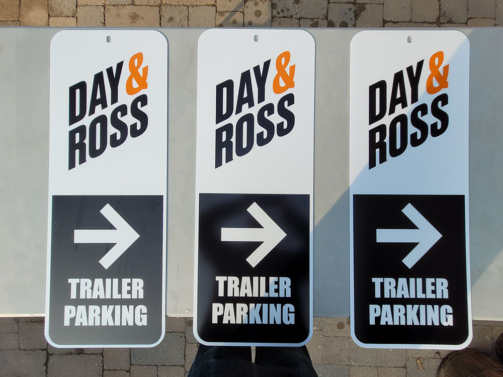 Day & Ross Trailer Parking